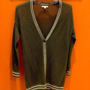 Knit duster cardigan